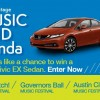 win a car hondastage sweepstakes 2013