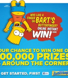 Butterfinger Sweepstakes Instant Win Game Facebook Sweeps