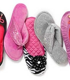 Dearfoams Weekly Giveaway 2013 Free Slipper Shoes
