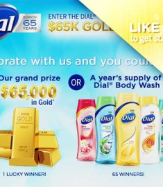 Dial 65k thousand Dollars in Free Gold Giveaway 2013