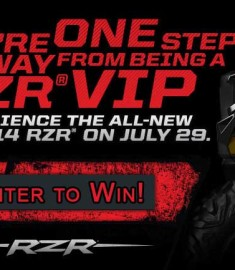 Win a Polaris ATV 2014 RZR sweepstakes