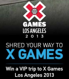 Win a Trip to X Games Win free GoPro