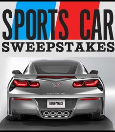100000 Sports Car Sweepstakes 2013