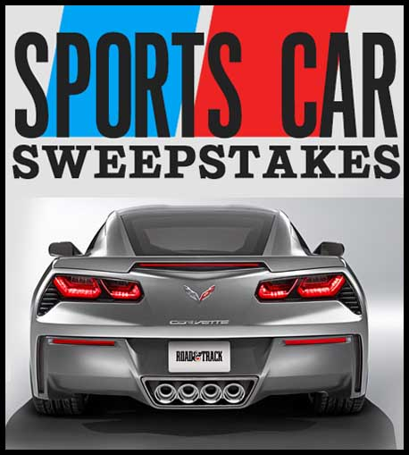 100 Grand Giveaway: Sports Car Sweepstakes 2013
