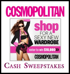 Cosmo Sexy Style Win Cash Sweepstakes 2013