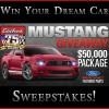 Edelbrock Mustang Giveaway Racing Package Sweepstakes