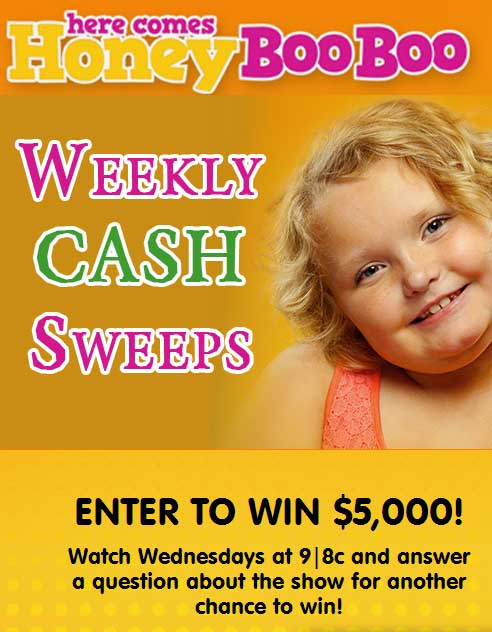 Own sweepstakes show on tlc
