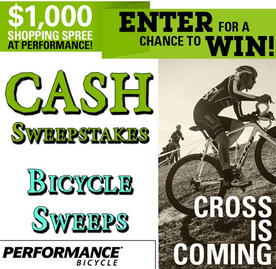 Win 1 000 Cash Shopping Spree Performance Bicycle