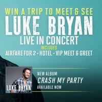 Win A Trip Sweepstakes Luke Bryan Concert VIP