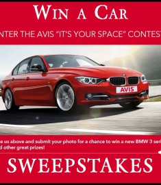Win A Car Sweepstakes >> Win A Car Sweepstakes Win A Bmw 3 Series Avis Its Your Space