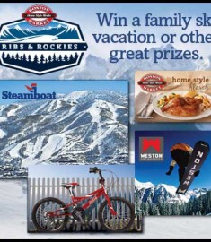 Win a Ski Trip Vaacation Boston MArket Sweepstakes 2013
