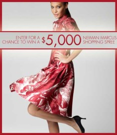 5000 Neiman Marcus Shopping Spree