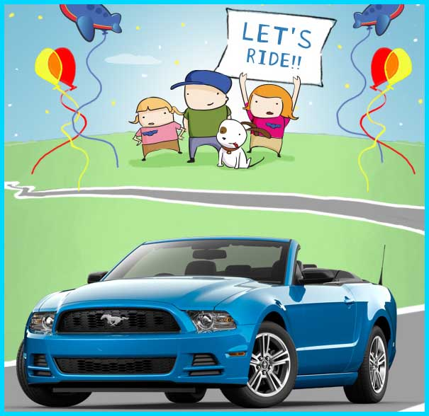 Alamo Ford Mustang Sweepstakes Win A Car Giveaway 2013