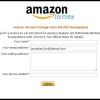 Amazon Student College Cash Sweepstakes