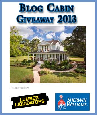Hgtv win a house blog cabin sweepstakes 2013 sweeps maniac for Win a home contest