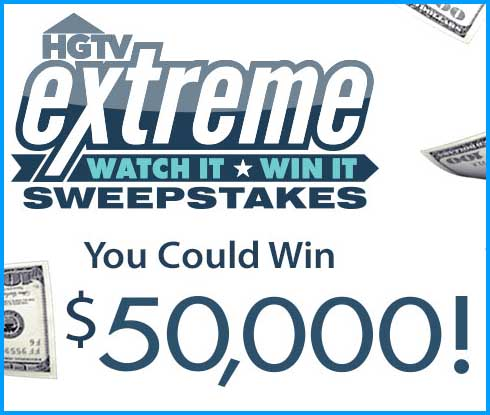 enter to win 50 grand cash sweepstakes with the hgtv