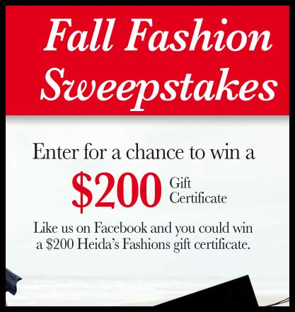 Gift Card Giveaway 200 Fall Fashion Sweepstakes 2013