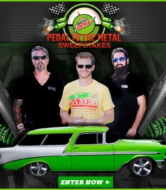 75000 Fast n Loud Diet Dew Pedal to the Metal Sweepstakes