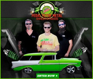 Enter the Pedal to The Metal Sweepstakes from Fast n Loud to Win Dale