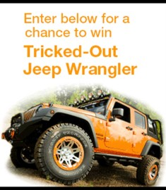 Win a Car Amazon Automotive Jeep Giveaway Rugged Ridge