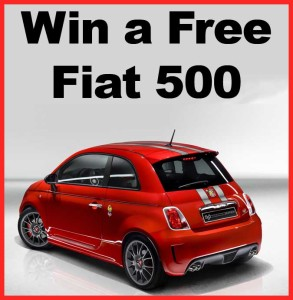 Win a Fiat 500 Car Sweepstakes