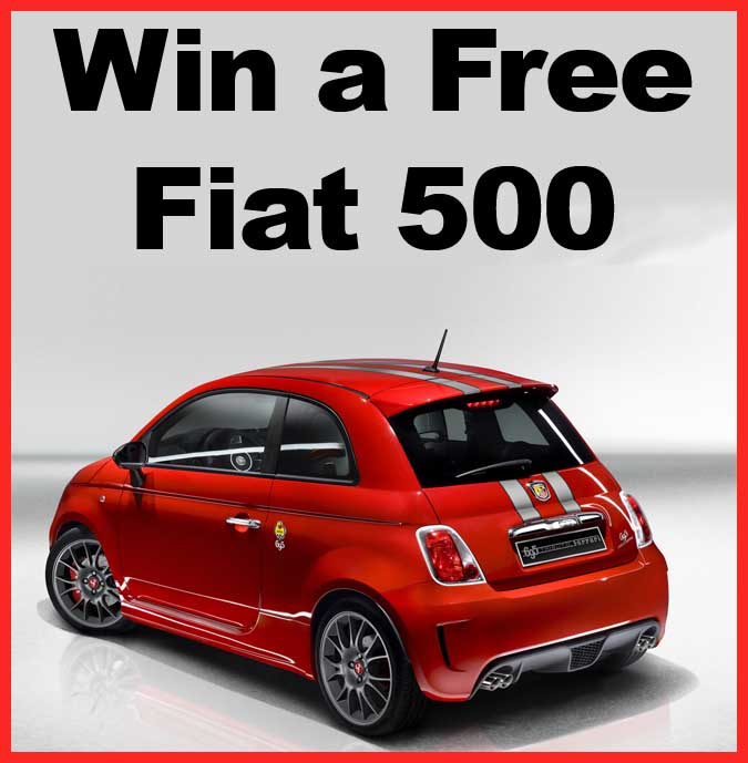 Win Fiat Pop Promotion Car Giveaway Sweeps Maniac