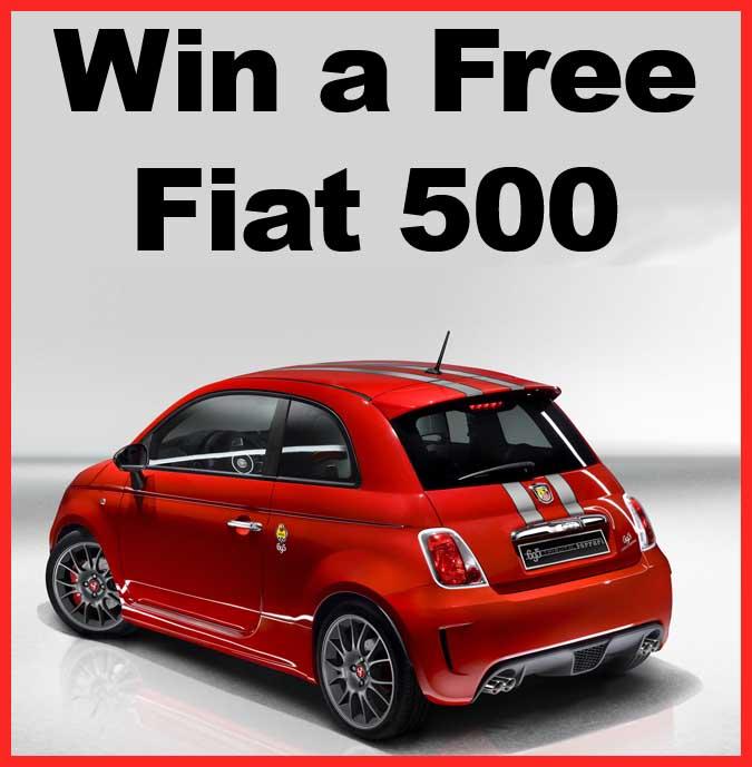 Win A Fiat POP Promotion Car Giveaway Sweeps Maniac - Fiat promotion