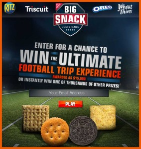 Win a Trip 15000 Cash Giveaway Football Sweepstakes