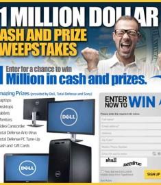1 Million Cash and Prizes TigerDirect Tech Sweepstakes