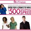 500 Shopping Spree Burlington Coat Factory Sweepstakes