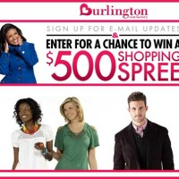 500 Shopping Spree Burlington Coat Factory Sweepstakes
