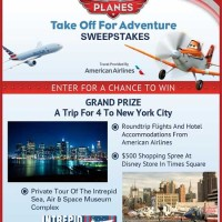 Disney Sweepstakes Win a Trip for 4 to New York City