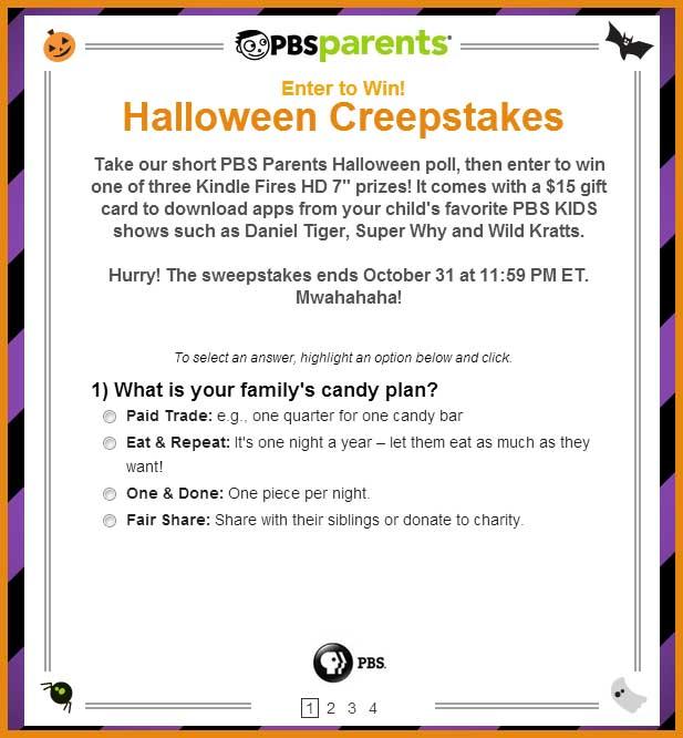 M&m halloween sweepstakes