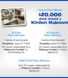 Pillsbury 20 grand Kitchen Makeover