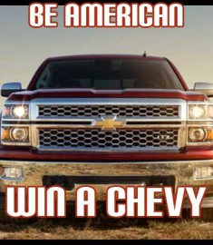 Win a Chevy Truck Silverado Sweepstakes