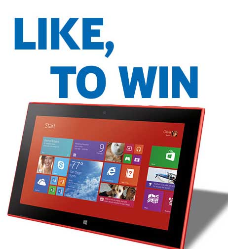 Tablet giveaway sweepstakes