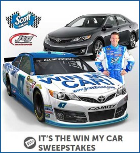 Win a Race Car Scott Racing Sweepstakes (1)