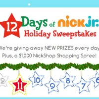 12 days of Nick Jr Holiday Sweepstakes NickShop Shopping Spree