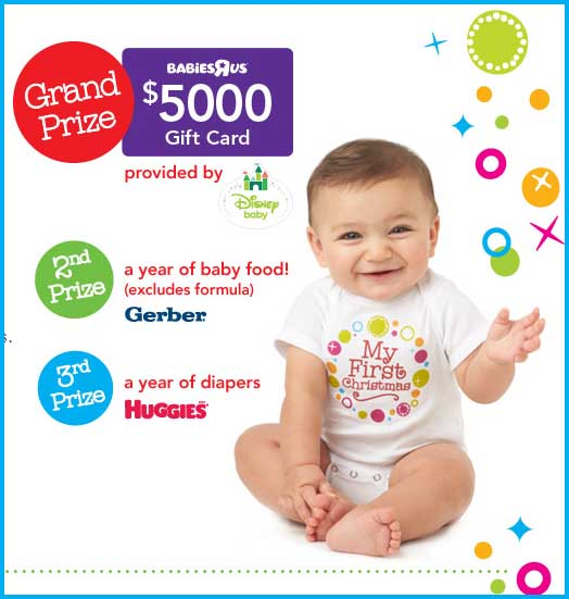 babys first christmas free baby stuff babies r us sweepstakes