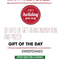 Bed Bath Beyond Sweepstakes 2500 Gift Card