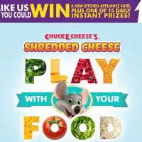 Chuck E Cheeses Daily Instant Win Sweepstakes