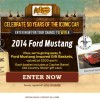 Cracker Barrel 2014 Ford Mustang Win a Car Sweepstakes (1)