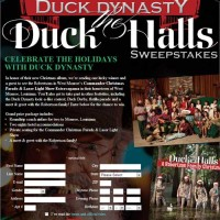 Duck Dynasty Duck Halls Holiday Sweepstakes