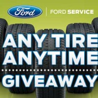 Ford Giveaway Any Tire Anytime Dream Vacation Sweepstakes
