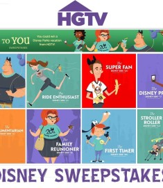 Win a Disney Vacation HGTV sweepstakes 'Ears to You