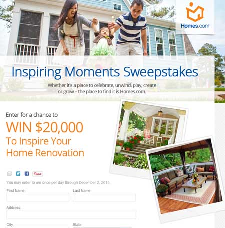 Hgtv home makeover sweepstakes 2018 ford