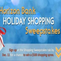 Horizon Bank Holiday Shopping Sweepstakes