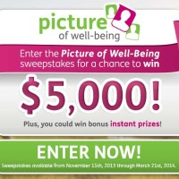 Humana Well Being 5000 Cash Sweepstakes Instant Win Prizes