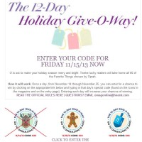 Oprah Sweepstakes Holiday Giveaway