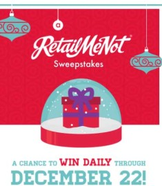 RetailMeNot Sweepstakes Thousands in Prizes